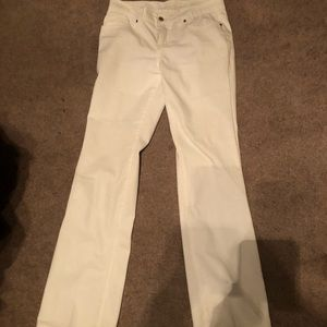 Faded Glory Boot Cut White Jeans